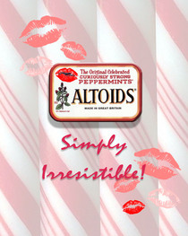Altoids  simply irrisistable cv