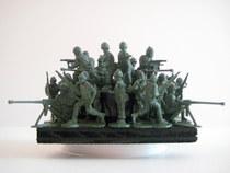 Green plastic army men 6b cv