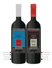Wine label one cv