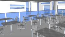 Cafe 2nd floor interior cv