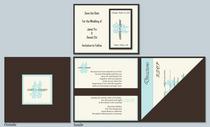 Wedding invitation cv