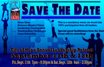 Save the date leadership cv