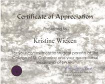 Swap certificate cv