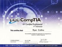 A certification cv