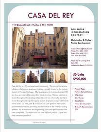 Casa flyer cv