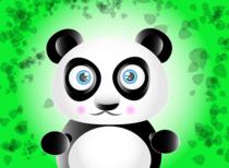 Cute panda cv