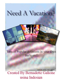 Mock travel booklet cover indesign cv