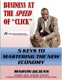 Business at the speed of click cover page cv
