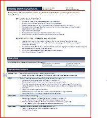 Resume capture cv