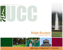 Budget cover cv