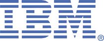 Ibm logo white cv