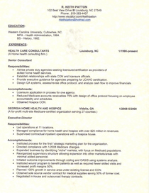 Resume cover parchment cv