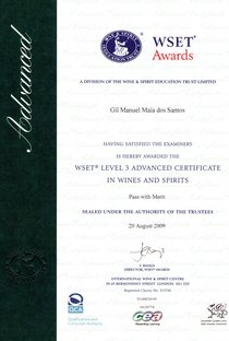 Wset advanced certificate cv