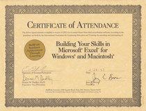 Excel certificate 0001 cv