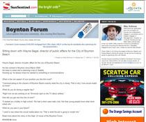 Forum article cv