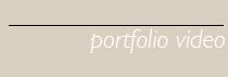 Portfolio video box cv