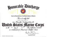 Honorable discharge cv