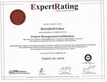 Pm certification cv