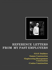 Reference letters cv