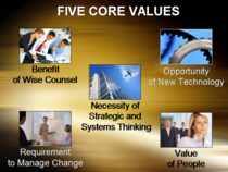 Paul s core values cv