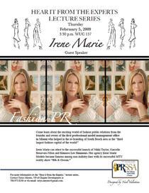 Irene marie flyer cv