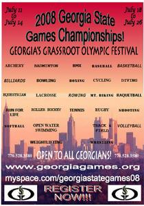 Georgia games flyer cv
