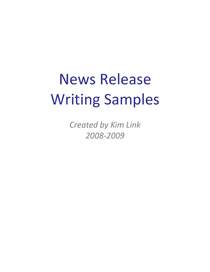 Writing sample cover page cv