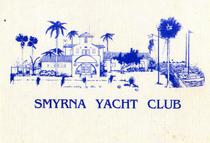 New smyrna beach yacht club note card cv