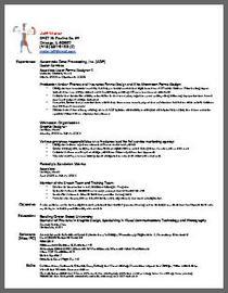 New resume cv