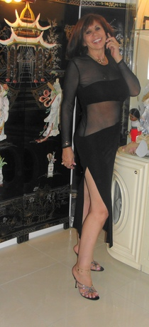 Black sexey tango dress cv