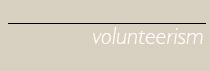 Volunteerism cv