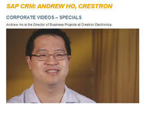 Sap customer testimonial video image cv