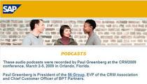 Sap podcast page cv