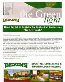 Bekins newletter cv