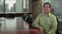 Pwc customer testimonial video image cv