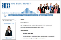 Royalroads screenshot cv