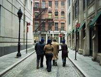 Four on empty street cv