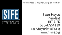 Sife business card cv