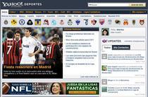 Yahoo sports cv