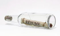Resume in a bottle cv