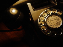 Black telephone by ollyg cv