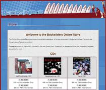 Backsliders online store1 cv