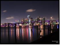 Miami city scape 01 11x14 cv