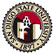 San diego state emblem cv