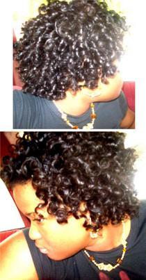 Hair two cv
