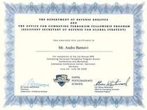 Nps ct certificate cv