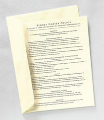 Resume paper 1  cv