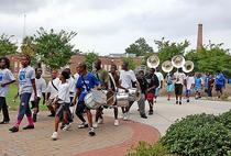 Burke high school band 1  cv