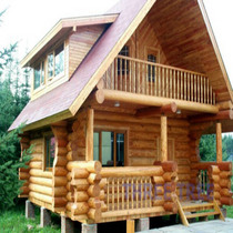 Log wooden house 1  cv