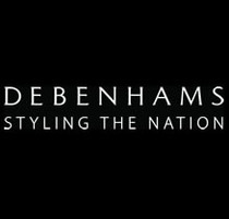 Logo debenhams black cv